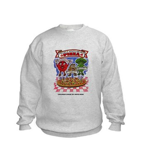"Children's Book ""People Who Live in a Pizza"" Sweatshirt"