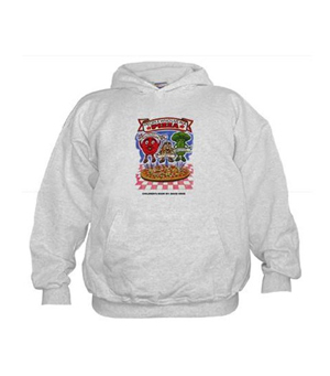"Children's Book ""People Who Live in a Pizza"" Hoodie"